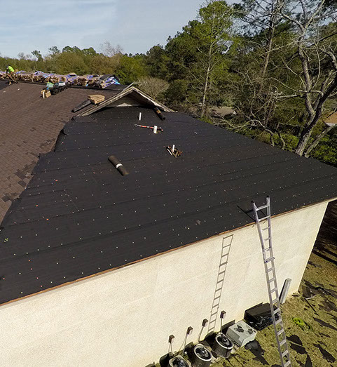 ... And Into The Wood Substrate (i.e. Plywood Or OSB Roof Deck), So #15 Or  #30 Will Work For Any Shingle Roof. The Type We Recommend Depends On Roof  Slope.